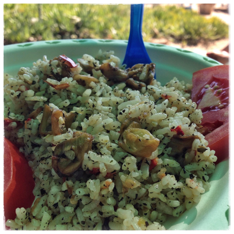 mitts beach herbal bozcaada yemekler