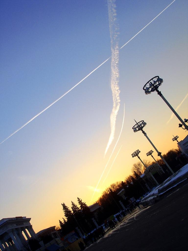 moskova gökyüzü kış