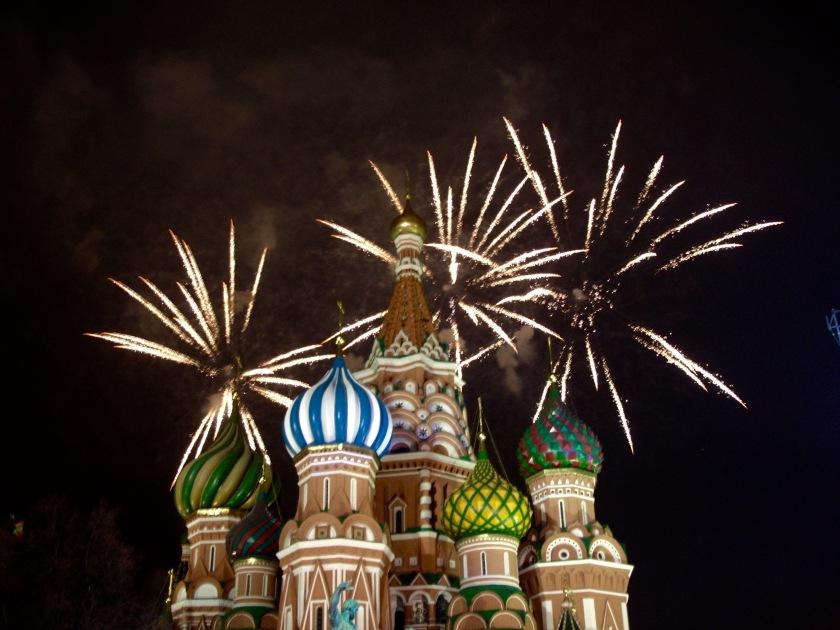 Moskova Yeni yıl kutlama