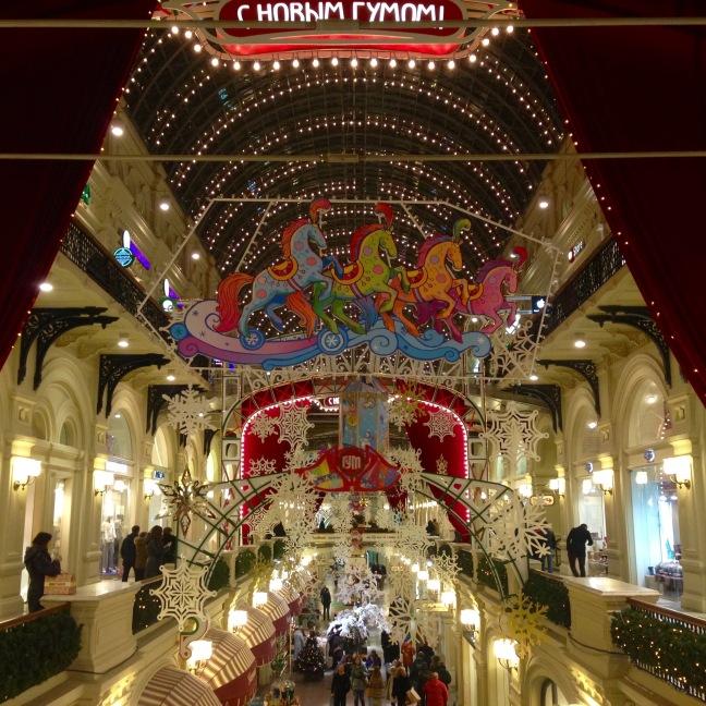 Moskova alışveriş